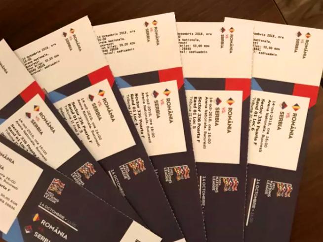 Ticketing la naționala României