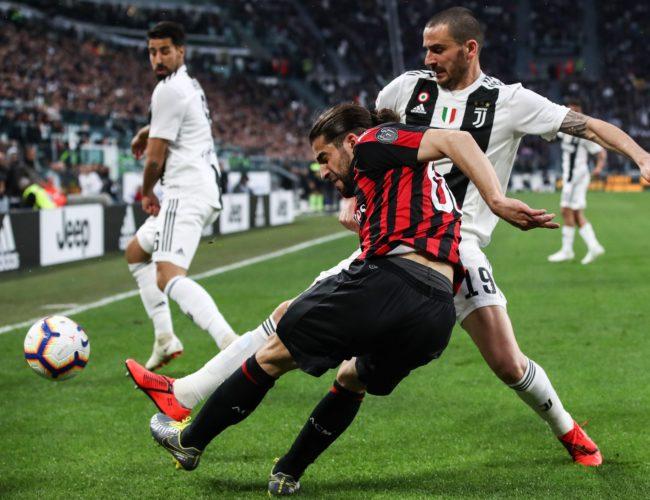 Cronica etapei 31 Serie A Juventus Milan
